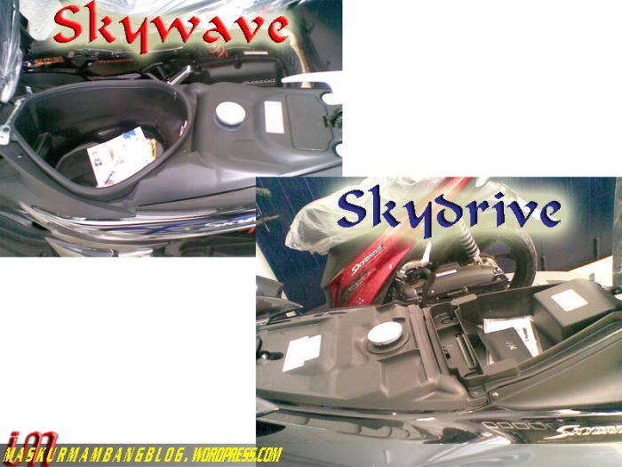 Skywave vs Skydrive baggage