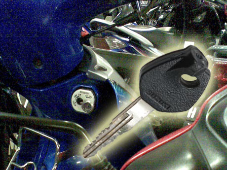 Kunci Magnetik Shogun 125