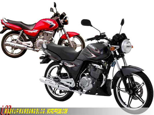 Suzuki Thunder 125 old-new