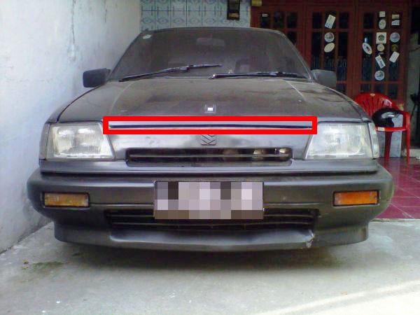 Dari segi penampilan, kalao saya amati banyak Suzuki Forsa ini bagian