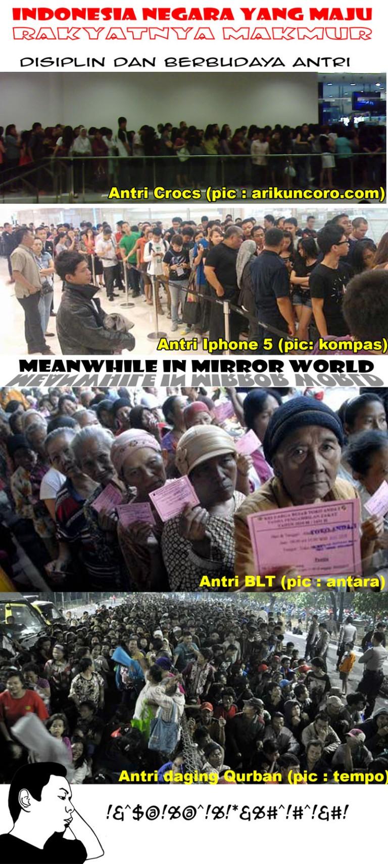 Antriiiii di Indonesia