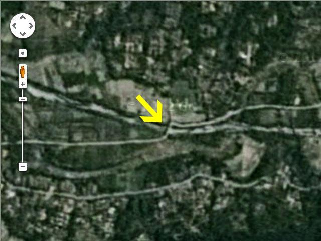 Jembatan Miring Google Map