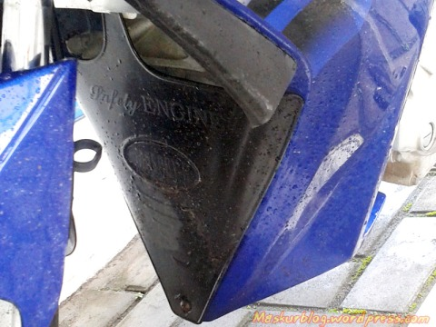Jupiter MX Tutup Mesin Detail
