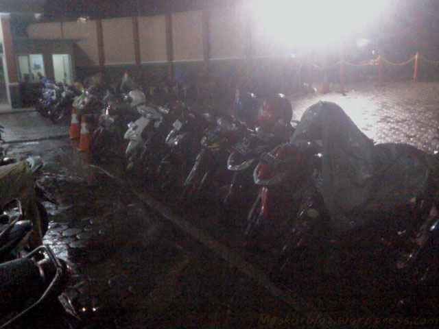 Parkiran Kehujanan