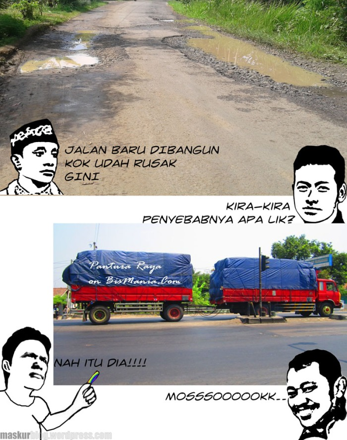 Komik Jalan Rusak 1