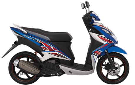 Yamaha Xeon RC blue