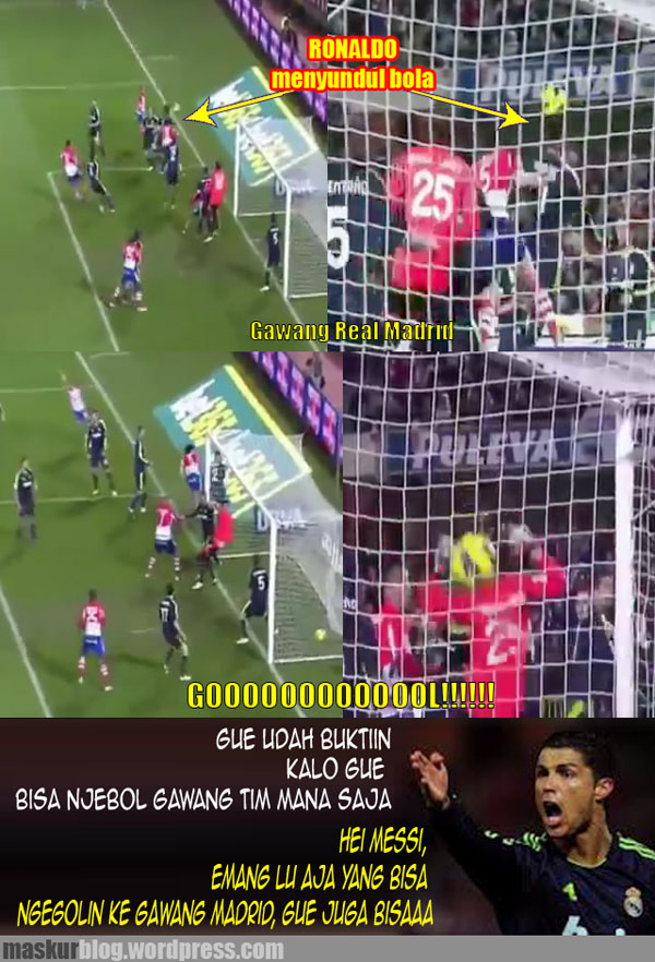 Bukti Kemampuan Cristiano Ronaldo :)