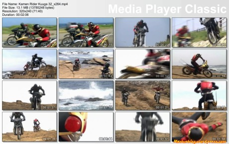 Kamen Rider Kuuga Bike Fight On Episode 32
