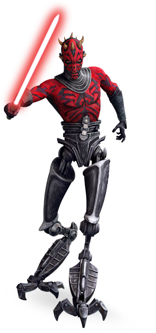 Darth Maul Cybernetic Legged