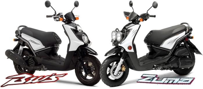 Yamaha BW's vs Zuma