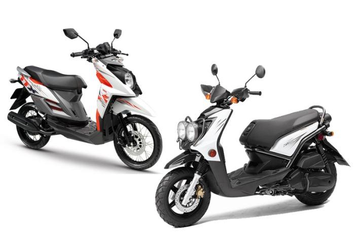 Yamaha TTX vs Zuma