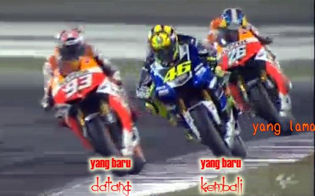 MotoGP - Yang Baru vs Yang Lama