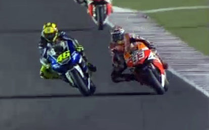 Rossi vs Marquez