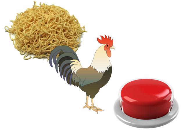 mie ayam tombol