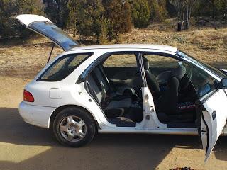 Back door hatchback