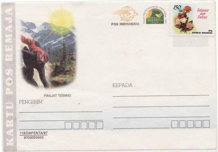 1997-Kartu Pos Tahun Telekomunikasi 1997