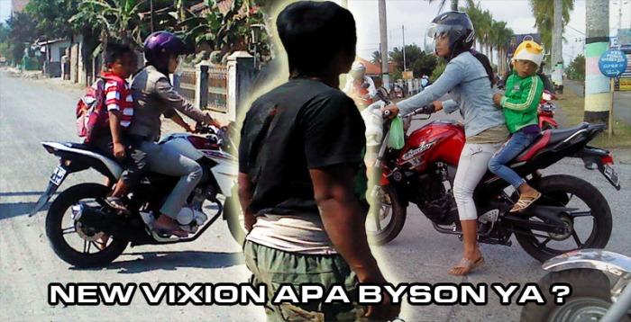 NEW VIXION VS BYSON