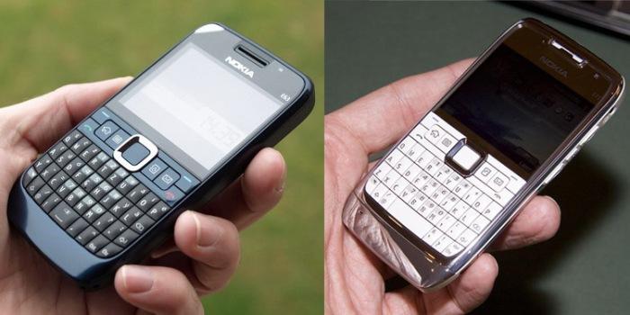 Nokia E63 & E71