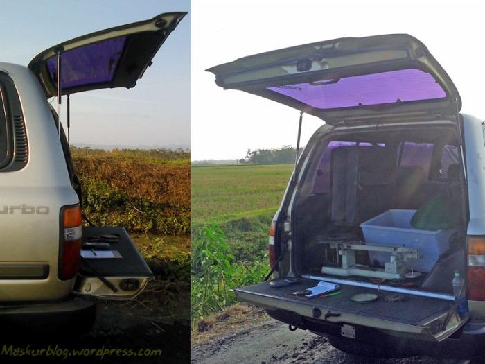 Toyota Land Cruiser Pintu Belakang