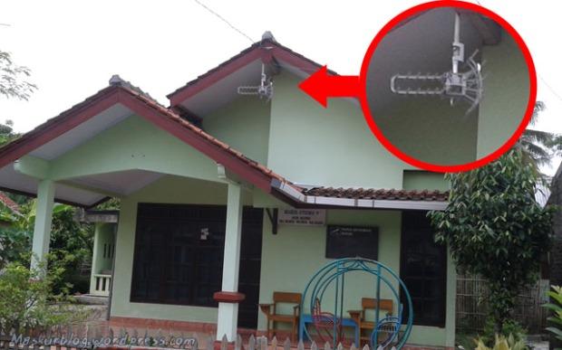 Antenna TV Di Bawah Tritisan 2
