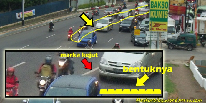 Marka Kejut Jalan Sultan Agung Semarang