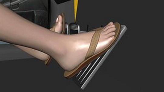 pedal sandal