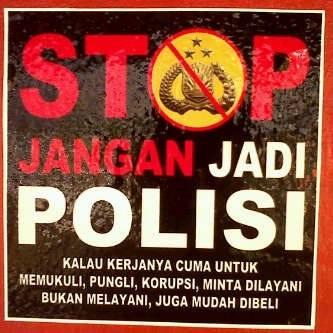 Stop Jangan Jadi Polisi