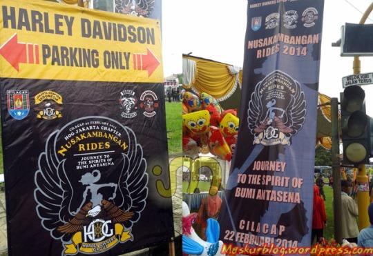 Acara Harley Cilacap 01