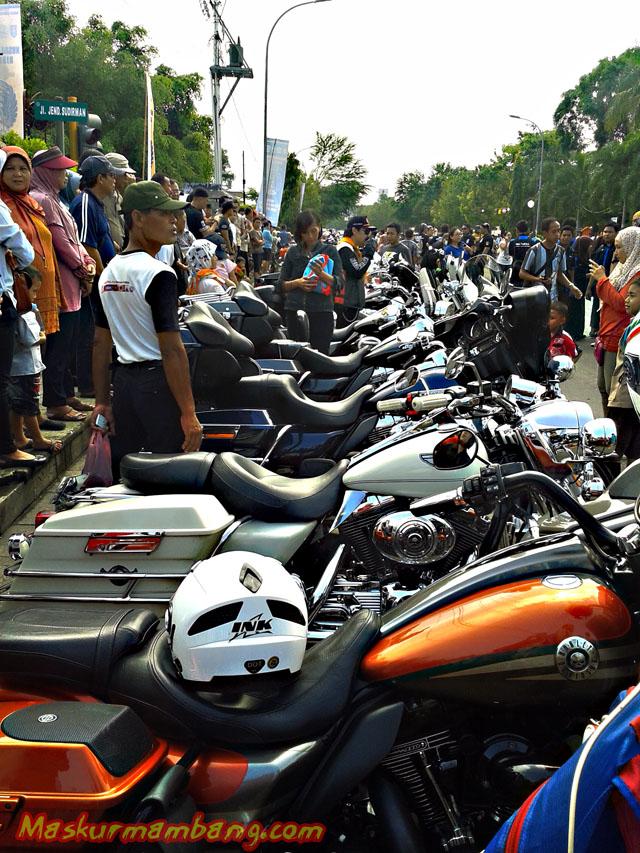 Acara Harley Cilacap 06