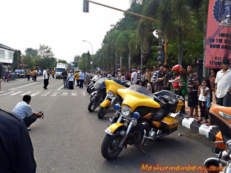 Acara Harley Cilacap 08