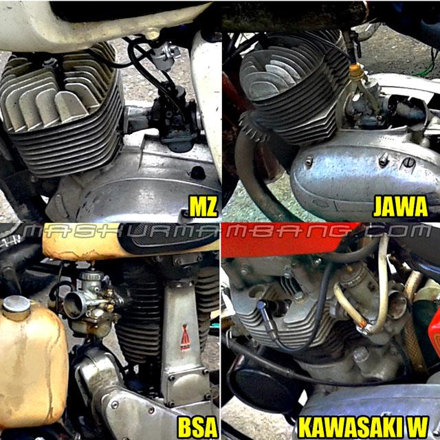 Motor Lawas karburator Jepaang