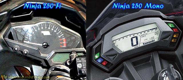 Panel Speedometer Ninja 250