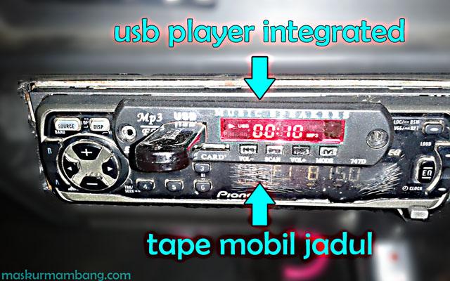 USB Player Untuk Tape Mobil Jadul