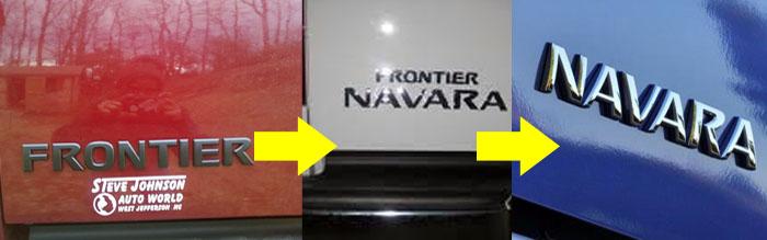 Frontier Navara Emblem