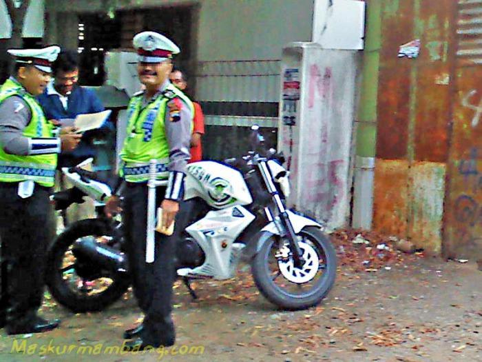 Kena Tilang Polisi