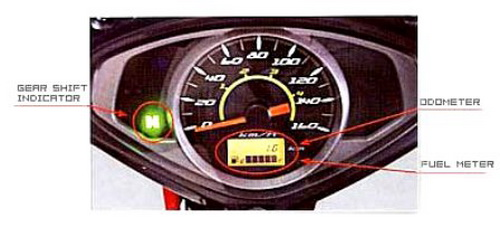 speedometer arashi