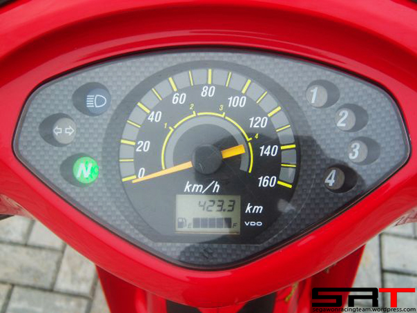 Speedometer Shogun 125