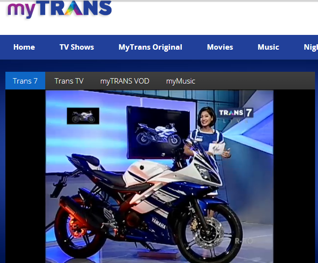 streaming mytrans