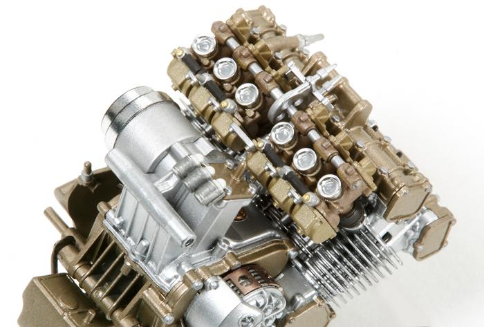 Honda RC 166 Silinder