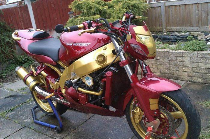 iron man motorcycle ZXR9 geektyrant dot com