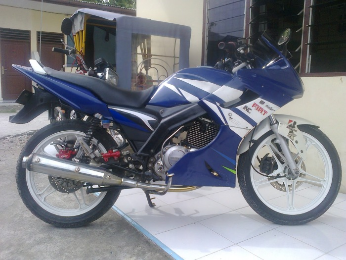 Modifikasi Suzuki thunder 2