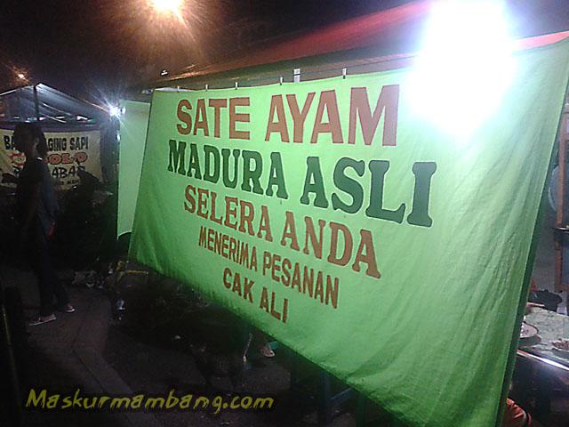 Sate Ayam Madura Pasar Kroya 04