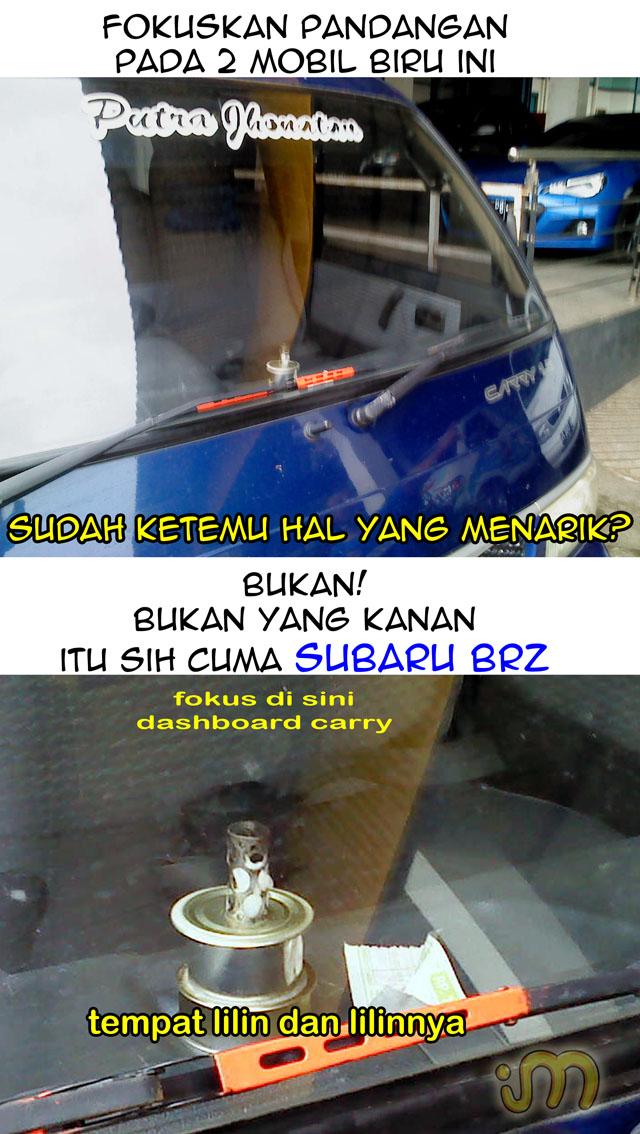 Tempat Lilin Vs Subaru