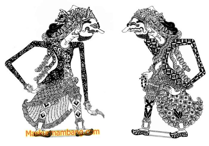 Durna Wibawa vs Durna Gecul
