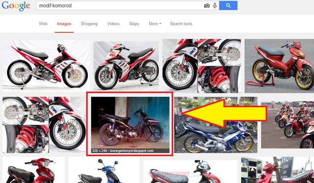 hasil pencarian google SERP