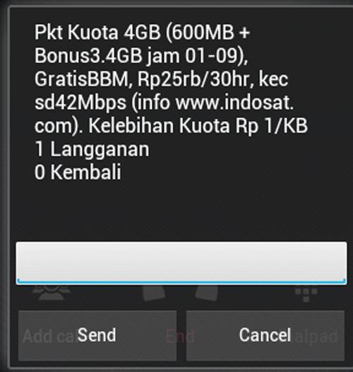 Indosat paket 4 GB
