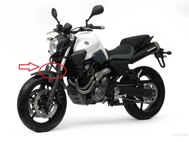 Yamaha MT 03 circled resize