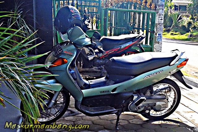 Yamaha Nouvo Biru
