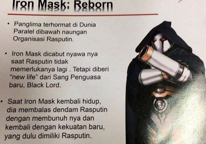Bima Satria Garuda X  - Iron MAsk