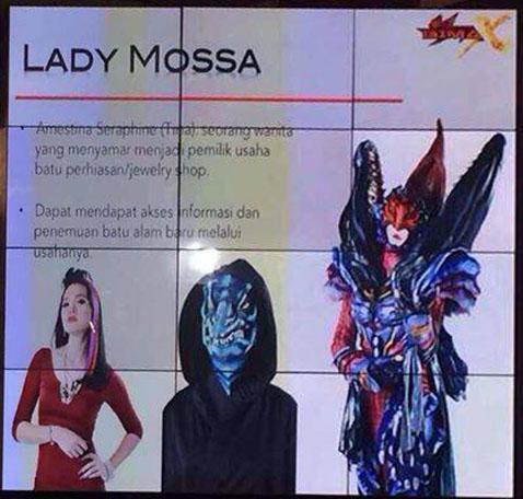 Bima Satria Garuda X  - Lady Mosa crop